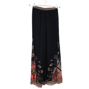 3 for $20- Flying Tomato Boho Feather Palazzo Pant